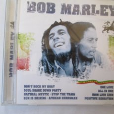 CDs de Música: BOB MARLEY , DON´T ROCK MY BOAT , ONE LOVE , ALL IN ONE ETC . Lote 182118657