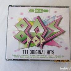 CDs de Música: 111 ORIGINAL HITS - 6 CD -2010-80 S POP OVER 7 HOUR OF MUSIC . Lote 182130646