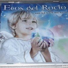 CDs de Música: CD - ECOS DEL ROCIO - MIRA QUE NOCHE MAS BUENA - ECOS DEL ROCÍO. Lote 182143240
