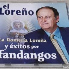 CDs de Música: CD- EL LOREÑO - ÉXITOS POR FANDANGOS - EL LOREÑO - LA ROMERÍA LOREÑA Y ÉXITOS POR FANDANGOS. Lote 182143682