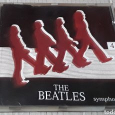 CDs de Música: CD - THE BEATLES - SYMPHONIC - THE BEATLES - 4 - RINGO, MCCARTNEY, LENNON, GEORGE HARRISON. Lote 182145003
