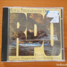 CDs de Música: CD RPO - CLASSIC OVERTURES AND SYMPHONIES - ROYAL PHILHARMONIC ORCHESTRA (5R). Lote 182145540
