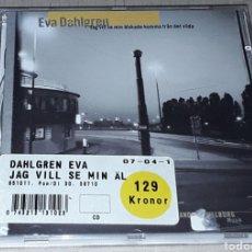 CDs de Música: CD - EVA DAHLGREN - JAG VILL SE MIN ALSKADE KOMMA FRAN DET VILDA - DAHLGREN. Lote 182147461