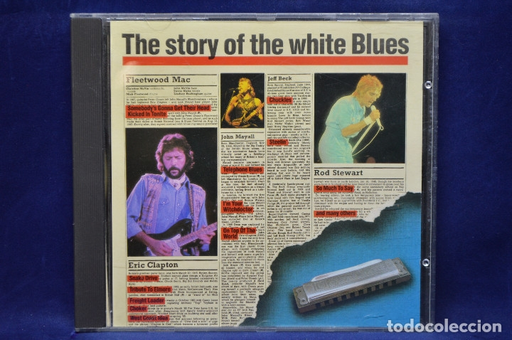 VARIOUS - THE STORY OF THE WHITE BLUES - CD (Música - CD's Jazz, Blues, Soul y Gospel)