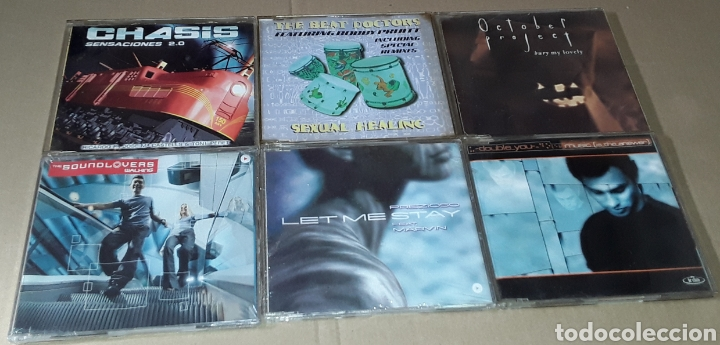 CDs de Música: LOTE 25 CD SINGLE / MAXI SINGLE - CHASIS, LOCO MIA, THE BEAT DOCTOR, DOUBLE YOU - Foto 2 - 182158566