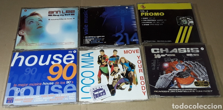 CDs de Música: LOTE 25 CD SINGLE / MAXI SINGLE - CHASIS, LOCO MIA, THE BEAT DOCTOR, DOUBLE YOU - Foto 3 - 182158566