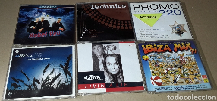 LOTE 25 CD SINGLE / MAXI SINGLE - CHASIS, LOCO MIA, THE BEAT DOCTOR, DOUBLE YOU (Música - CD's Techno)