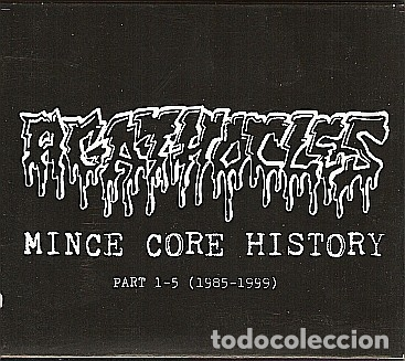 AGATHOCLES - MINCE CORE HISTORY PART 1-5 / 1985-1999 - 5 CDS BOX SET (Música - CD's Rock)