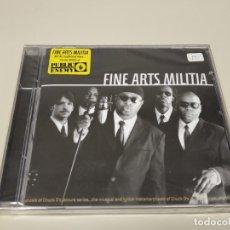 CDs de Música: JJ11- FINE ARTS MILITIA CD NUEVO PRECINTADO LIQUIDACIÓN!!. Lote 182184347