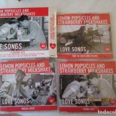 CDs de Música: LOVE SONG , LEMON POPSICLES AND STRAWBERRY MILKSHAKES 3 CD,S . Lote 182206185