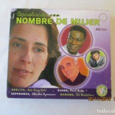 CDs de Música: CANCIONES CON NOMBRE DE MUJER , 40 TEMAS 2 CD,S . Lote 182206473