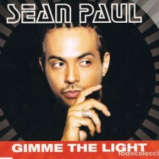 CDs de Música: SEAN PAUL ‎– GIMME THE LIGHT PRO3662 . Lote 182234883