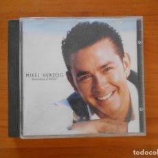 CDs de Música: CD MIKEL HERZOG - BIENVENIDOS AL PARAISO (5W). Lote 182254222