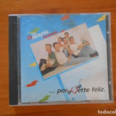 CDs de Música: CD TERAPIA NACIONAL - POR VERTE FELIZ (5W). Lote 182254368