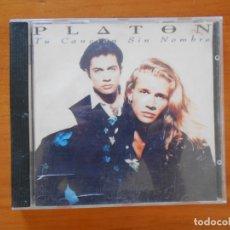 CDs de Música: CD PLATON - TU CANCION SIN NOMBRE (5W). Lote 182254561