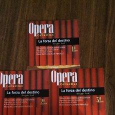 CDs de Música: VERDI - LA FORZA DEL DESTINO (3CD DECCA) ACCADEMIA DI SANTA CECILIA DE ROMA, MOLINARI-PRADELLI. Lote 182257741