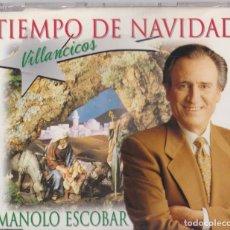 CDs de Música: MANOLO ESCOBAR - TIEMPO DE NAVIDAD. Lote 182288461