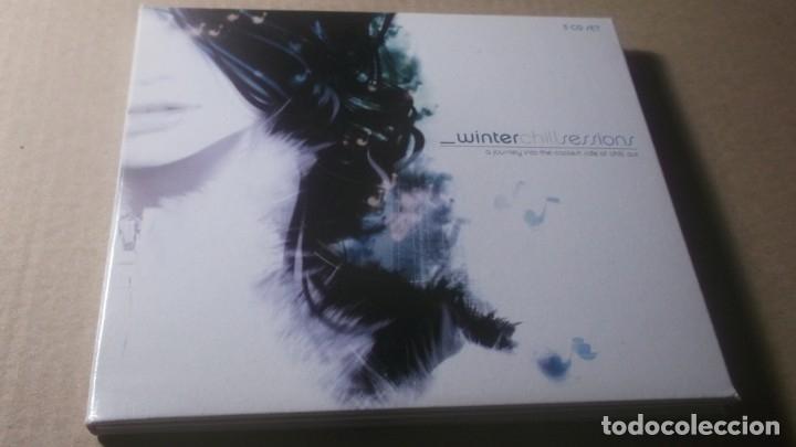 ESTUCHE 3 CD . EDITADO EN ARGENTINA 2000 - VARIOS ARTISTAS , SESIONES DE MUSICA DE RELAJACIÓN (Música - CD's World Music)