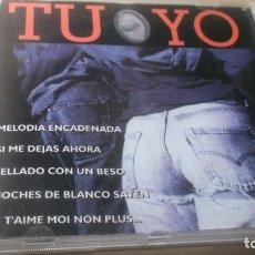 CDs de Música: CD . PYRAMID RECORDS 1995 - TU Y YO - 14 BALADAS AÑOS 50,60,70,Y 80 . Lote 182298823