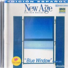 CDs de Música: NEW AGE MUSIC & NEW SOUNDS ¨BLUE WINDOW¨(CD). Lote 182307235