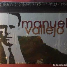 CDs de Música: MANUEL VALLEJO(OBRA COMPLETA 1923/1950)PRECINTADO.. Lote 182319728