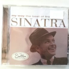 CDs de Música: FRANK SINATRA - MY WAY THE BEST OF... - CD 1997. Lote 182360085