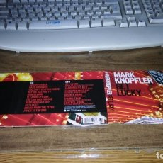 CDs de Música: MARK KNOPFLER - GET LUCKY (EDICION ESPECIAL CD + DVD). Lote 182386296