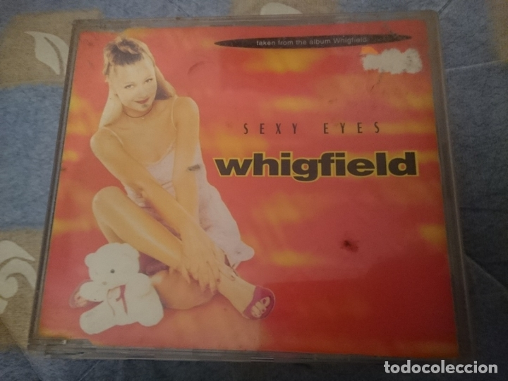 WHIGFIELD - SEXY EYES - CD SINGLE 4 VERSIONES (Música - CD's Techno)