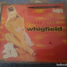 CDs de Música: WHIGFIELD - SEXY EYES - CD SINGLE 4 VERSIONES. Lote 182392518