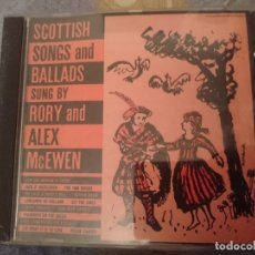 CDs de Música: SCOTTISH SONGS AND BALLADS - RORY AND ALEX MCEWEN . Lote 182393172