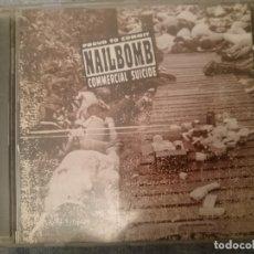 CDs de Música: NAILBOMB -CONCIERTO - PROUD TO COMMIT COMMERCIAL SUICIDE . Lote 182393617