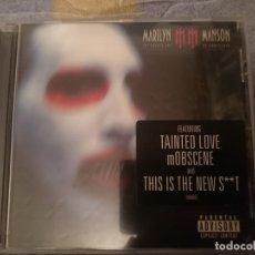 CDs de Música: MARYLIN MANSON - THE GOLDEN AGE OF GROTESQUE . Lote 182393727