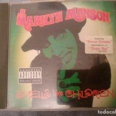 CDs de Música: MARYLIN MANSON - SMELLS LIKR CHILDREN . Lote 182393856