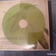 CDs de Música: MOMENTOS 2011 CANCIONES INTERNACIONALES VOLUMEN II. Lote 182394136