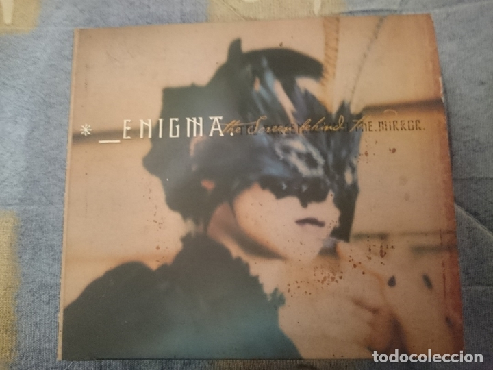ENIGMA -THE SCREEN BEHIND THE MIRROR (Música - CD's New age)