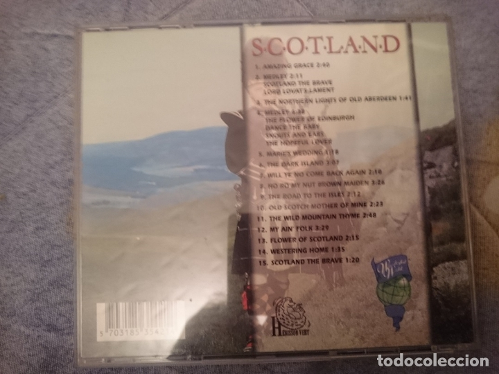 CDs de Música: CD SCOTLAND - MUSICA TRADICIONAL ESCOCESA - Foto 2 - 182397427