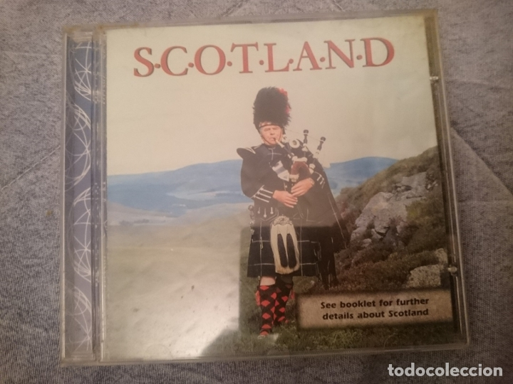 CD SCOTLAND - MUSICA TRADICIONAL ESCOCESA (Música - CD's World Music)