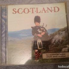 CDs de Música: CD SCOTLAND - MUSICA TRADICIONAL ESCOCESA . Lote 182397427