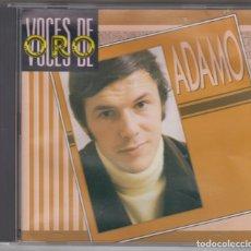 CDs de Música: ÁDAMO CD VOCES DE ORO 1988. Lote 182403820
