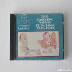 CDs de Música: TODO AGOSTINO VARGAS DE FM TANGO PARA USTED. Lote 182469417