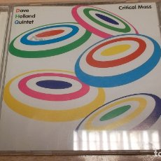 CDs de Música: DAVE HOLLAND QUINTET - CRITICAL MASS- CD. Lote 182289082