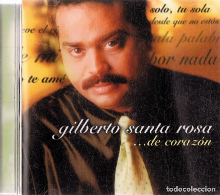 GILBERTO SANTA ROSA .... DE CORAZÓN (Música - CD's Latina)