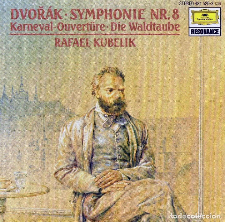 DVORAK. SINFONIA Nº8. RAFAEL KUBELIK (Música - CD's Clásica, Ópera, Zarzuela y Marchas)