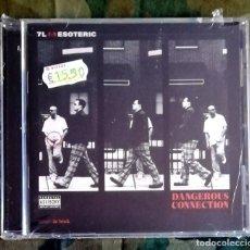 CDs de Música: 7L & ESOTERIC – DANGEROUS CONNECTION CD, US 2002 NUEVO SIN ABRIR. Lote 182499766