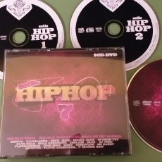 CDs de Música: ESTILO HIP HOP 7 CD + DVD NACIONAL + 5€ ENVIO C.N.. Lote 182499885