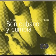 CDs de Música: THE UNIVERSAL COLLECTION. SON CUBANO Y CUMBIA. CD. DOS DISCOS . Lote 182542430