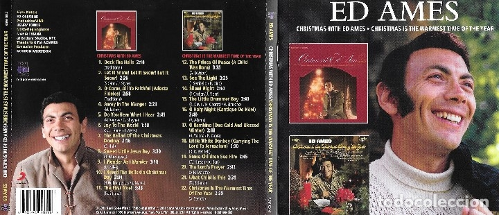 ED AMES - CHRISTMAS WITH ED AMES / CHRISTMAS IS THE WARMEST TIME OF THE YEAR (Música - CD's Melódica )