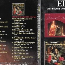 CDs de Música: ED AMES - CHRISTMAS WITH ED AMES / CHRISTMAS IS THE WARMEST TIME OF THE YEAR. Lote 182547800