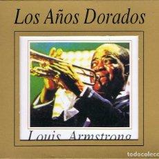 CDs de Música: LOUIS ARMSTRONG - LOS AÑOS DORADOS. 3 X CD. ARCADE MUSIC. Lote 182557961