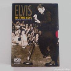 CDs de Música: CAJA DOBLE DVD ELVIS IN THE 50'S. ELVIS PRESLEY. Lote 182560831